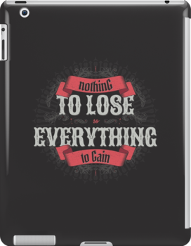 NOTHING TO LOSE EVERYTHING TO GAIN by snevi