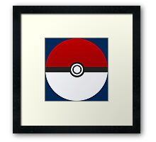 Poke Ball - Pokemon Framed Print