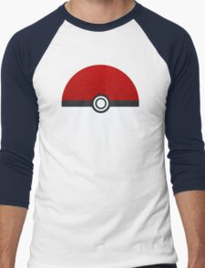 Poke Ball - Pokemon Men's Baseball ¾ T-Shirt