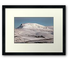 Penyghent From Langcliffe Framed Print