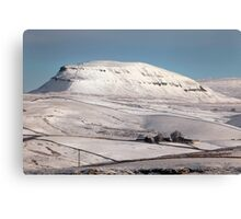 Penyghent From Langcliffe Canvas Print