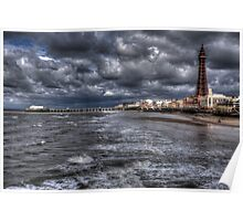 Blackpool Tower Poster