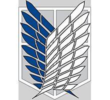AOT Recon Corps Logo Photographic Print