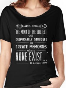 The Infinite Starter Remastered (White) Women's Relaxed Fit T-Shirt