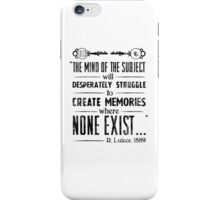 The Infinite Starter Remastered (Black) iPhone Case/Skin