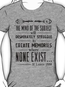 The Infinite Starter Remastered (Black) T-Shirt