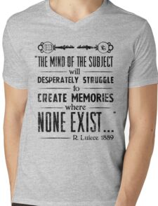 The Infinite Starter Remastered (Black) Mens V-Neck T-Shirt