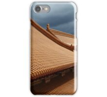 Buddhist Temple Roof Photo iPhone Case/Skin