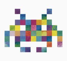 Cubist Invader Kids Tee