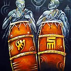TALKING DRUMS by CustomCanvasART