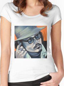 Depp Women's Fitted Scoop T-Shirt