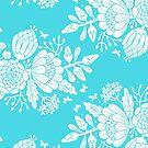 Spring Garden by Tee Brain Creative
