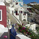 Santorini houses by aleksandra15