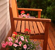 Cottage Bench by phil decocco