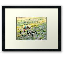 Little Tricycle..... Framed Print