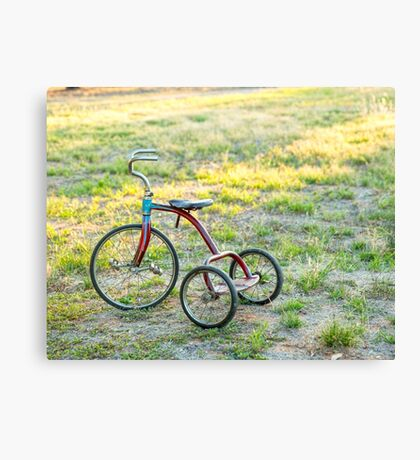 Little Tricycle..... Canvas Print