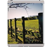 Rural Boundaries... iPad Case/Skin
