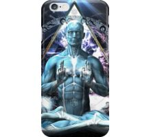 The Yoga Gate Keeper iPhone Case/Skin