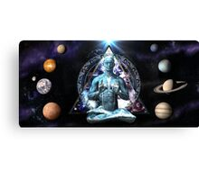The Yoga Gate Keeper Canvas Print