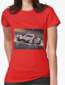 2015 Le Mans 24 LMP1 WINNER Porsche 919 Hybrid Bamber Tandy Hulkenberg Womens Fitted T-Shirt