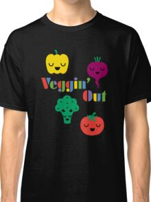 Veggin' Out (colored type) dark Classic T-Shirt