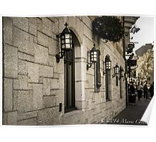 The Stone Walls Walk  Poster