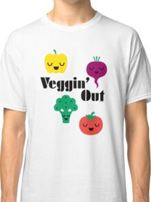 veggin' Out (black type)  Classic T-Shirt