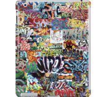 Old school graffiti mix N°1 iPad Case/Skin