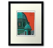 St Peters red and green Framed Print