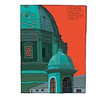 St Peters red and green Photographic Print