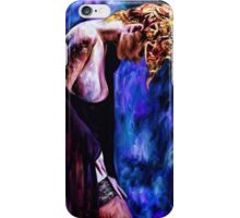 Tattooed Abstract Sadness iPhone Case/Skin