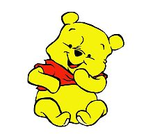 Pooh Bear Photographic Print