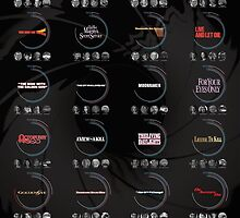 James Bond 007 Infographic by designsebastian