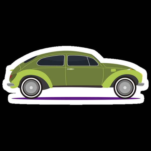 green car by Alejandro Durán Fuentes