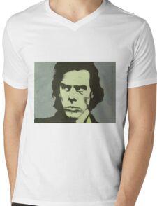 Nick Cave Mens V-Neck T-Shirt