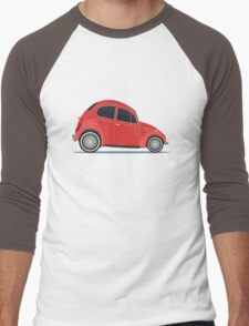 red car Men's Baseball ¾ T-Shirt
