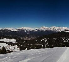 Mountain Ranges by Stefan Trenker