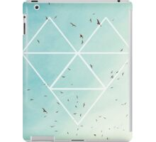 Free Birds in Blue Sky iPad Case/Skin