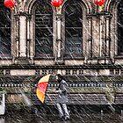 A fella with an Umbrella by MarkStuttard