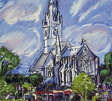 Marble Church Boddelwyddan by Christopher T Roberts