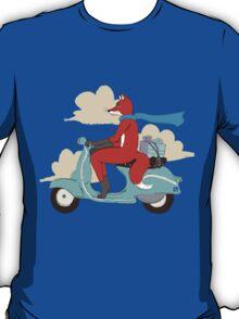 Vulpes on Vespa T-Shirt