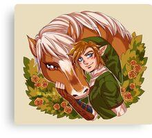 Twilight Princess Duo Canvas Print