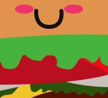 Burger Luv Sticker