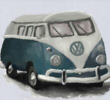 VW Camper Van by EternaLetizia