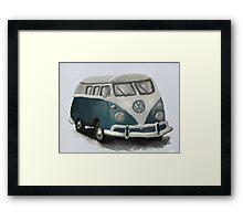 VW Camper Van Framed Print