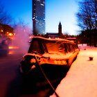 Winter Barge by MarkStuttard