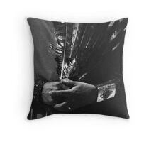 Chiricahua Apache-Native Healing Ceremony Throw Pillow