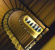 Masonic Stairway by MarkStuttard