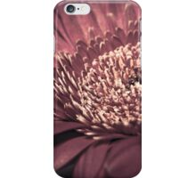 Red Flower Macro iPhone Case/Skin