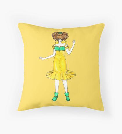 Flower Girl : Jonquil Throw Pillow